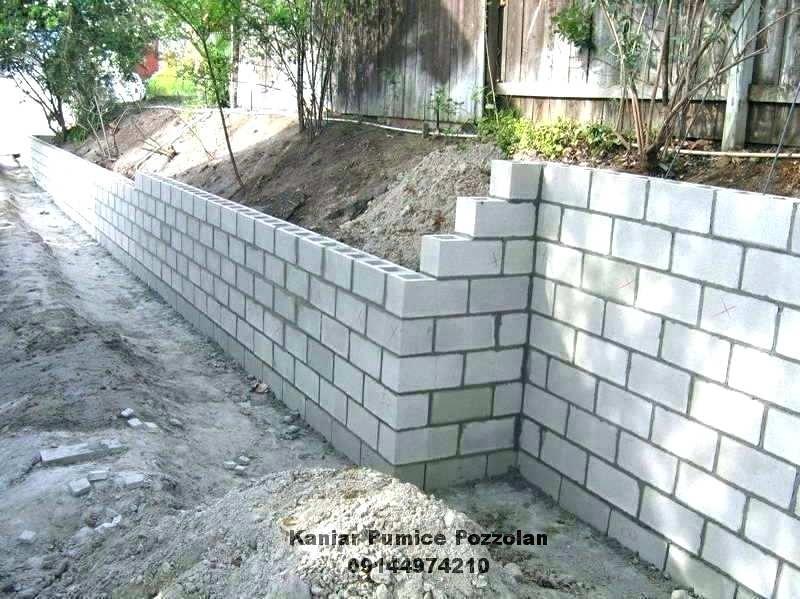 کاربرد درباره پومیس پوزولانی در ساختمان