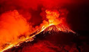 محتوای آتشفشان های ایران