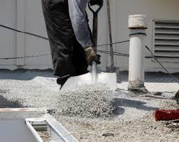 انجام شیب بندی کف طبقات با پوکه معدنی
