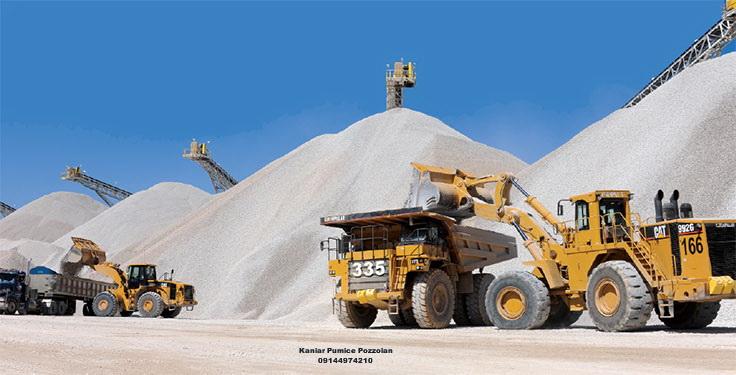 خدمات مشاوره فروش معدن پوکه